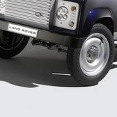 Land Rover Defenders Concept with Pedals