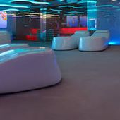 Smooth and Colorful Spa Design
