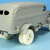kit Gaso.line chevrolet panel K-70 1/48
