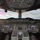Airbus A380 - cockpit | p a n o r e p o r t a g e | © g i l l e s v i d a l