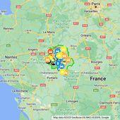 Les accidents mortels sur la route en Indre-et-Loire en 2016