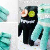 How to Make Glove Monsters - Sew - Handimania