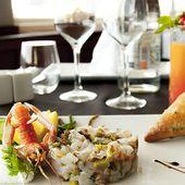 Restaurant bord de mer à Fort Mahon Plage