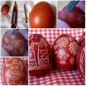 DIY Uniquely Decorated Easter Eggs