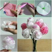 Creative Ideas - DIY Beautiful Tissue Paper Flowers -...