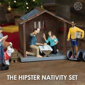 A Hipster Nativity Set So The Millennials Can Relate