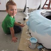 Make a sandbox with a tire! | I Heart Nap Time - How to Crafts, Tutorials, DIY, Homemaker