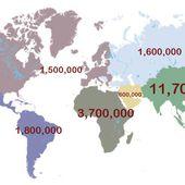 21 millions de victimes du travail forcé dans le monde selon l'OIT