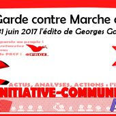 Avant garde contre Marche arrière - par Georges Gastaud - INITIATIVE COMMUNISTE