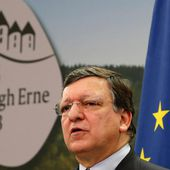 Hollade and Barroso clash over trade deal