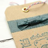 Tags with eyelets ♥ Etiquetas con anillas