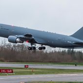 Le second KC-46A s'envole