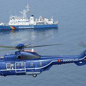 La police allemande commande trois H215