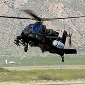 L'Apache s'essaye à l'arme laser