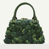Des accessoires de mode à manger - La boite verte