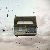 Des maisons volantes - La boite verte