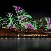 Les projections de 2015 sur l'Opéra de Sydney - La boite verte