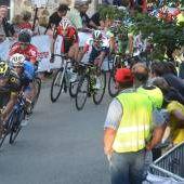 Critérium de marcolès - Un peloton huppé à Marcolès