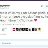 Mort de Robin Williams : la génération Y se met en scène sur le Web