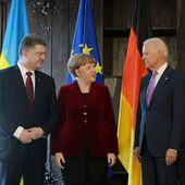 "Ukraine : Angela Merkel se montre ""prudente"""