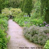 Hidcote Manor: le jardin des roses