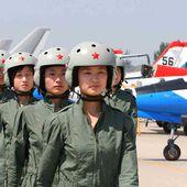 Des Chinoises pilotes de chasse