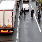 Grande-Synthe : l'A16 bloquée par une centaine de réfugiés