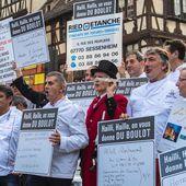 Strasbourg : des artisans et restaurateurs manifestent pour recruter