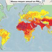 La pollution de l'air dans le monde