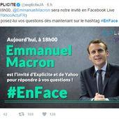 URGENT : Aidez-moi à poser des questions à Macron à 18h00 !