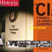 [La No News d'Historia] Oui, la CIA a financé la construction européenne...