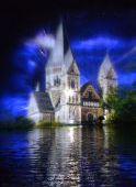 Son et lumière Metz Féérie Lac aux Cygnes