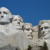 Carved by Dynamite, Massive Founding Fathers at Mt. Rushmore [34 PICS]