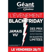 Casino : Cdiscount et Géant annoncent à leur tour un Black Friday