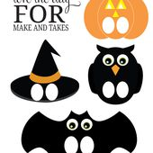 Printable Halloween Finger Puppets | Make and Takes