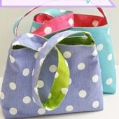 The Reversible Bag...for kids!   Make It and Love It