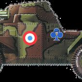 Automitrailleuse Panhard 178 France 1940