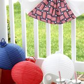 Traditional Flag Bunting DIY - The Sewing Rabbit