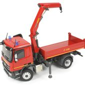 Miniature Construction World - Actros MP3 4x4 Truck