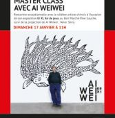 """Séance Exclusive Master Class Ai Weiwei - Projection """"Ai Weiwei: Never Sorry"""""""