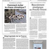 Dégringolade de la France