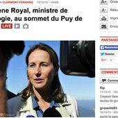 Ségolène Royal réagit aux manifestations des Motards en colère