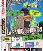 Rando Du Donjon, Bazoges en pareds (Sortie VTT du 3/5/2015 / Ref. : 38714)