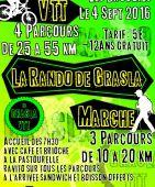 La rando de Grasla, Les Brouzils (Sortie VTT du 4/9/2016 / Ref. : 40328)