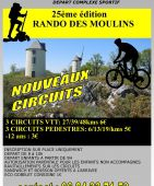 RANDONNEE DES MOULINS, MOUILLERON ST GERMAIN (Sortie VTT du 22/1/2017 / Ref. : 45651)