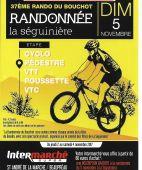 37eme RANDO DU BOUCHOT, LA SEGUINIERE (Sortie VTT du 05/11/2017 / Ref. : 50760)