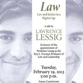 "Transcript: Lawrence Lessig on ""Aaron's Laws - Law and Justice in a Digital Age"": Section I "" naked capitalism"