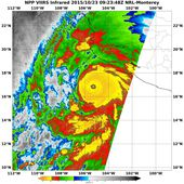 NASA-NOAA's Suomi NPP Satellite Sees Record-Breaking Patricia