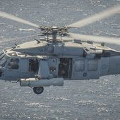 U.S. Navy deploys its new Airborne Laser Mine Detection System (ALMDS) for the first time