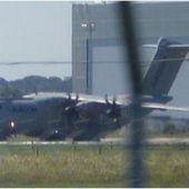 """Trois moteurs de l'A400M accidenté à Séville ont été affectés par un """" gel de puissance """""""